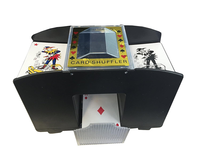 B & S mezclador de cartas automático 4 Barajas de Cartas ...