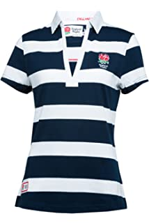 b21c8189 RBS 6 Nations Six Nations Rugby Men's Short Sleeve Striped - Navy ...