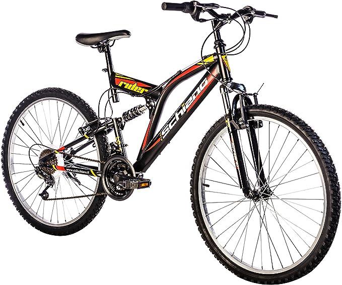 F.lli Schiano Rider Shimano Bicicleta Biamortiguada 18V, Hombre ...