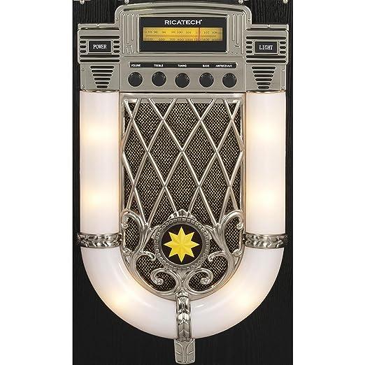 Ricatech RR950 - Gramola con Tocadiscos, Color Negro: Amazon.es ...