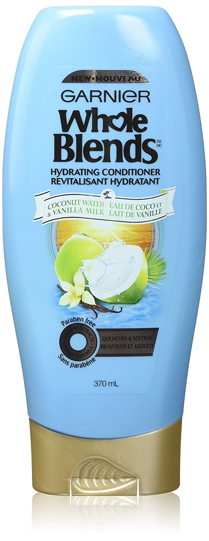 Garnier Whole Blends Conditioner with Coconut Water & Vanilla Milk Extracts, 12.5 fl. oz.