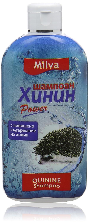 Chinin-Power Shampoo für schnelleres Haarwachstum - Reduziert Schuppen, fördert Wachstum - 200ml Milva 123