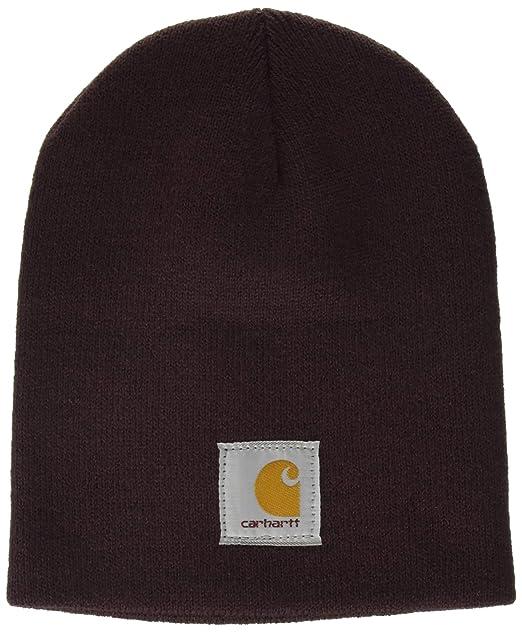e4fb350cc4d930 Carhartt Women's Acrylic Knit Hat, deep Wine OFA at Amazon Women's Clothing  store: