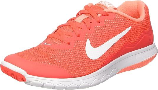 Nike Wmns Flex Experience RN 4, Zapatillas de Gimnasia para Mujer, Naranja (Brght Crmsn/White-ATMC Pnk-whi), 41 EU: Amazon.es: Zapatos y complementos