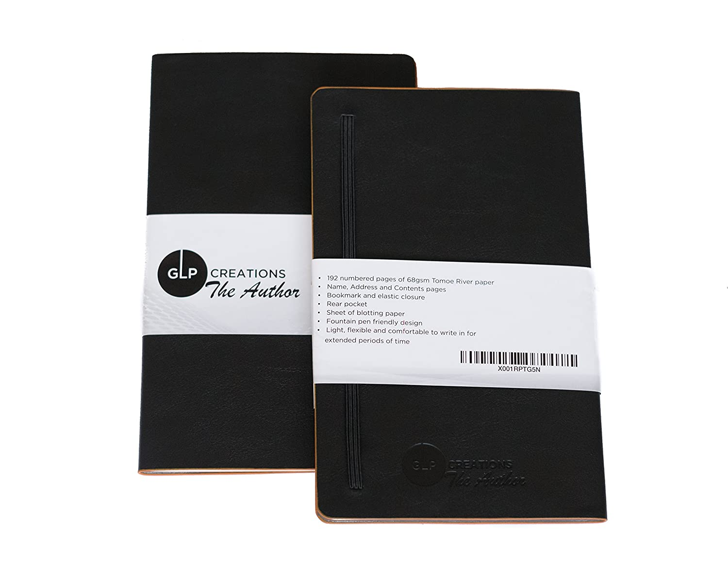 GLP Creations der Autor Tomoe River papier notebook Black/Lined …