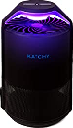 KATCHY Auto Sensor Indoor Insect and Flying Bugs Trap Fruit Fly