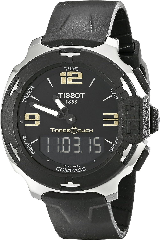 Tissot Men's TIST0814201705700 T-Race Touch Analog-Digital Black Watch
