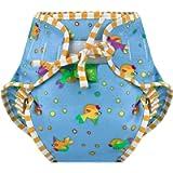 (Small, Goldfish) - Kushies Reusable Swim Nappy, Small, Goldfish