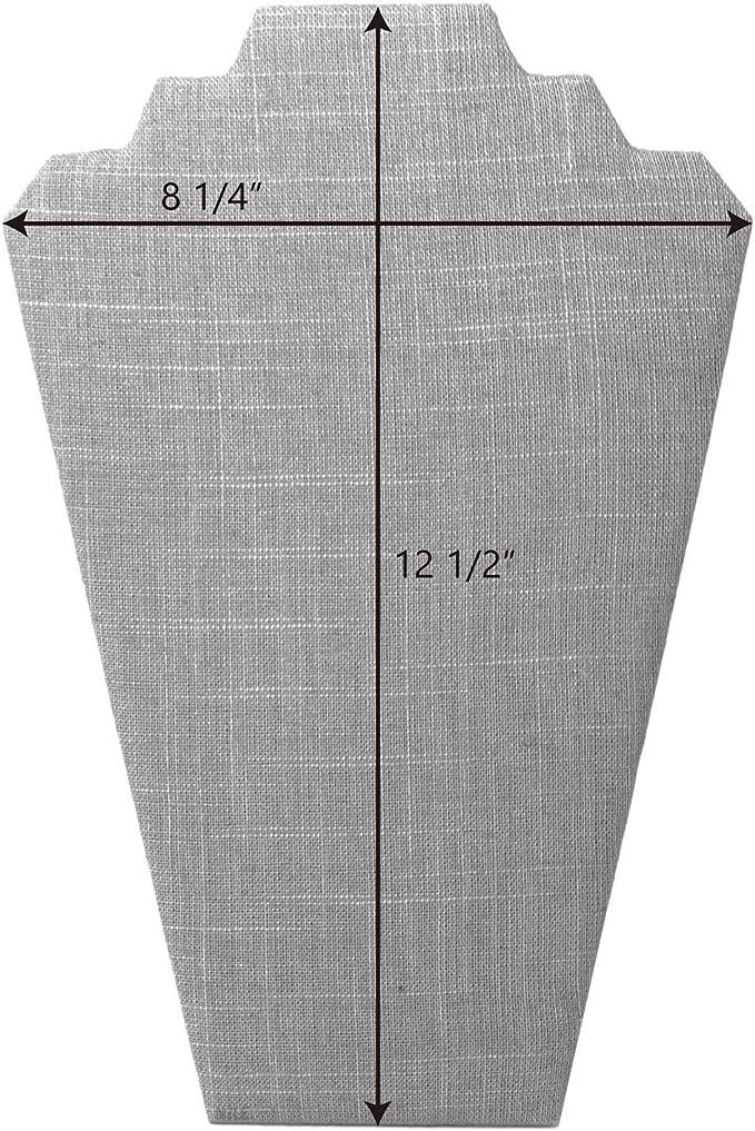 Darice 1989-70BUR Burlap Display Stand 8.75-Inch