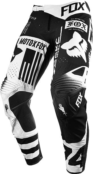 Amazon Com Fox Racing Flexair Union Vented Pantalones Motocross Pant Negro Automotive