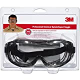 3M 91264-80025 Chemical Splash/Impact Goggle, 1-Pack