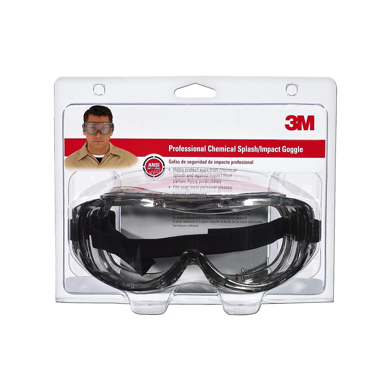 3M 91264-80025Chemical Splash/Impact Goggle, 1-Pack