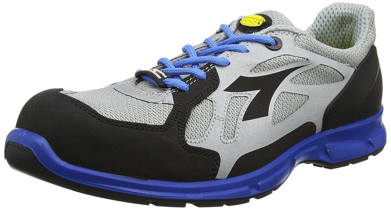 Diadora - Energy Boost 3, zapatos para correr Hombre, Blanco (Grigio/blu Nautico), 48 EU 48 EU