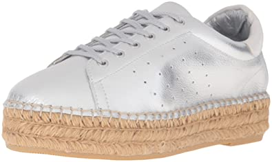 7a17189ea1d STEVEN by Steve Madden Women s Pace Fashion Sneaker Silver 7 ...
