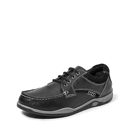 Carlton London Men's Black Hiking Boots