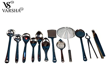 Charmant VARSHATM Stainless Steel Kitchen Cooking Tools,Servers,and Other Kitchen  Utilities.(Set
