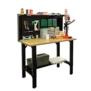 Stack-On SORB-48 Adjustable Height Pro Reloading Bench Review