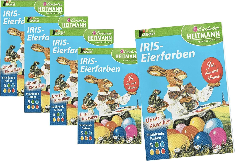 25x Iris Eiefarben Farben für Ostern Eier Ostereier Ostereierfarben Eierfarben