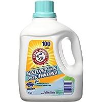 ARM & HAMMER Liquid Laundry Detergent for Sensitive Skin, 100 Loads, 4.43-L