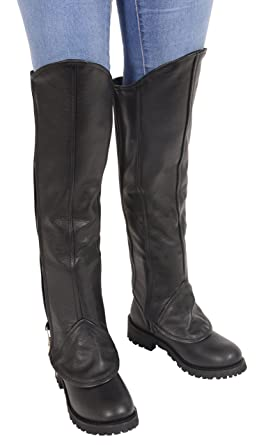 3f5bf5c25da Milwaukee Leather Ladies Knee High Half Chap Leggings w/Zipper Entry