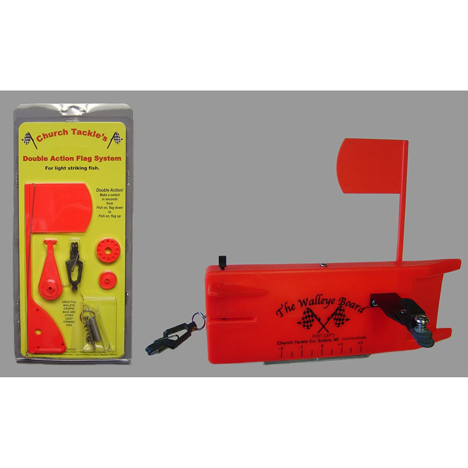 Church Tackle 60110 Double Action Flag System