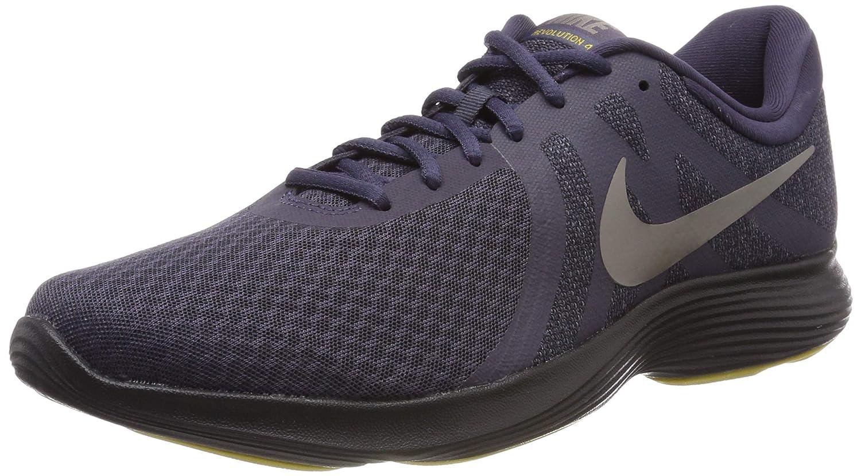 TALLA 42 EU. Nike Revolution 4 EU, Zapatillas de Running para Hombre