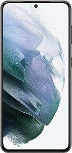 Samsung Galaxy S21 5G, US Version, 128GB, Phantom Gray - Unlocked (Renewed)