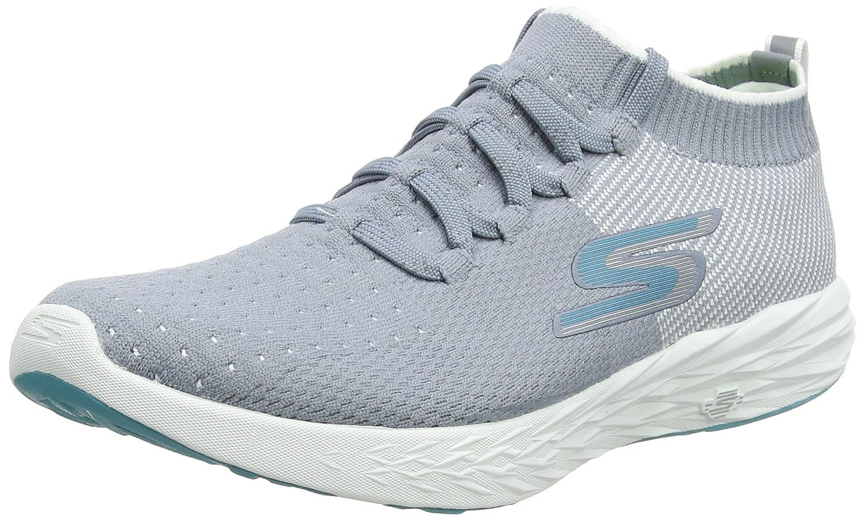 gris (gris blanco) Skechers Performance Go Run 6, Hauszapatos Deportivas para Interior para mujer