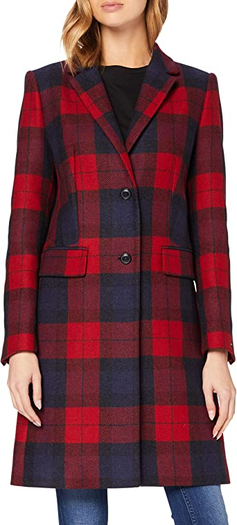Tommy Hilfiger Th Ess Blend Classic Coat Jacket Femme