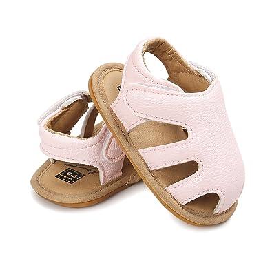 Amazon.com: cheeru bebé niñas zapatos antideslizante niño ...