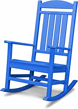 POLYWOOD R100PB Presidential Outdoor Rocking Chair