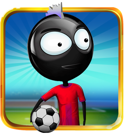 Stickman Heroes : Soccer Game -
