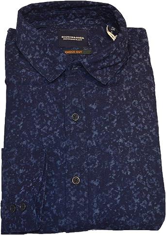 Scotch & Soda Camisa Casual - para Hombre: Amazon.es: Ropa y accesorios