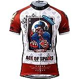 Thriller Rider Sports Mens Mountain Bike Short Sleeve Cycling Jersey Bike Tshirt