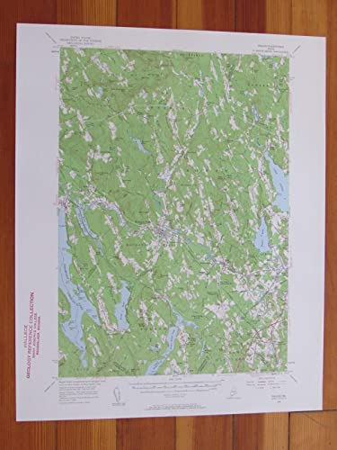 Amazon Com Poland Maine 1960 Original Vintage Usgs Topo Map