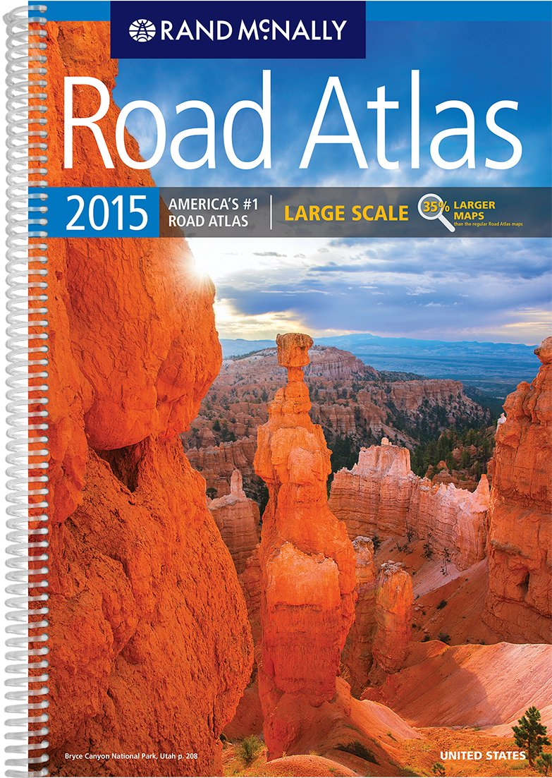 Large Scale Road Atlas Rand Mcnally Large Scale Road Atlas USA - Usa road atlas