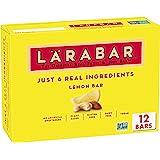 Larabar Lemon Bar, Gluten Free Vegan Fruit & Nut Bar, 1.6 oz Bars, 12 Ct
