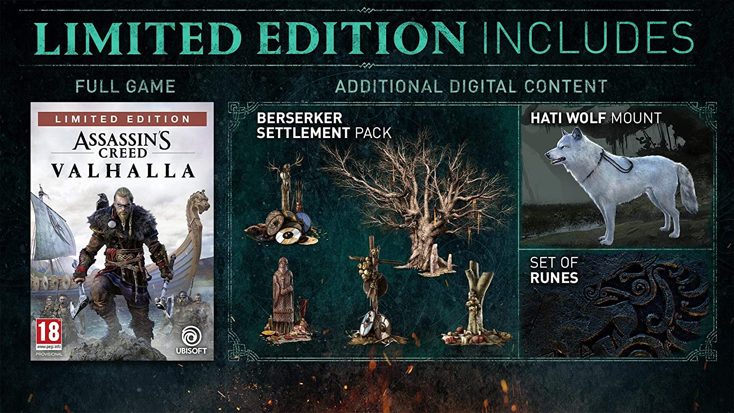Assassin S Creed Valhalla Amazon Limited Edition Ps5 Exclusive To Amazon Co Uk Amazon Co Uk Pc Video Games