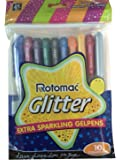 Xtra Sparkle Glitter Gel 10 Colours Rotomac Sparkle GelPens by Rotomac