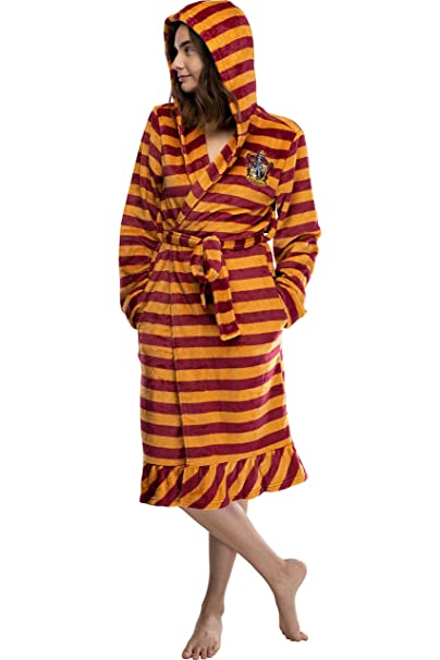 Amazon.com: Albornoz de forro polar con capucha de Harry ...