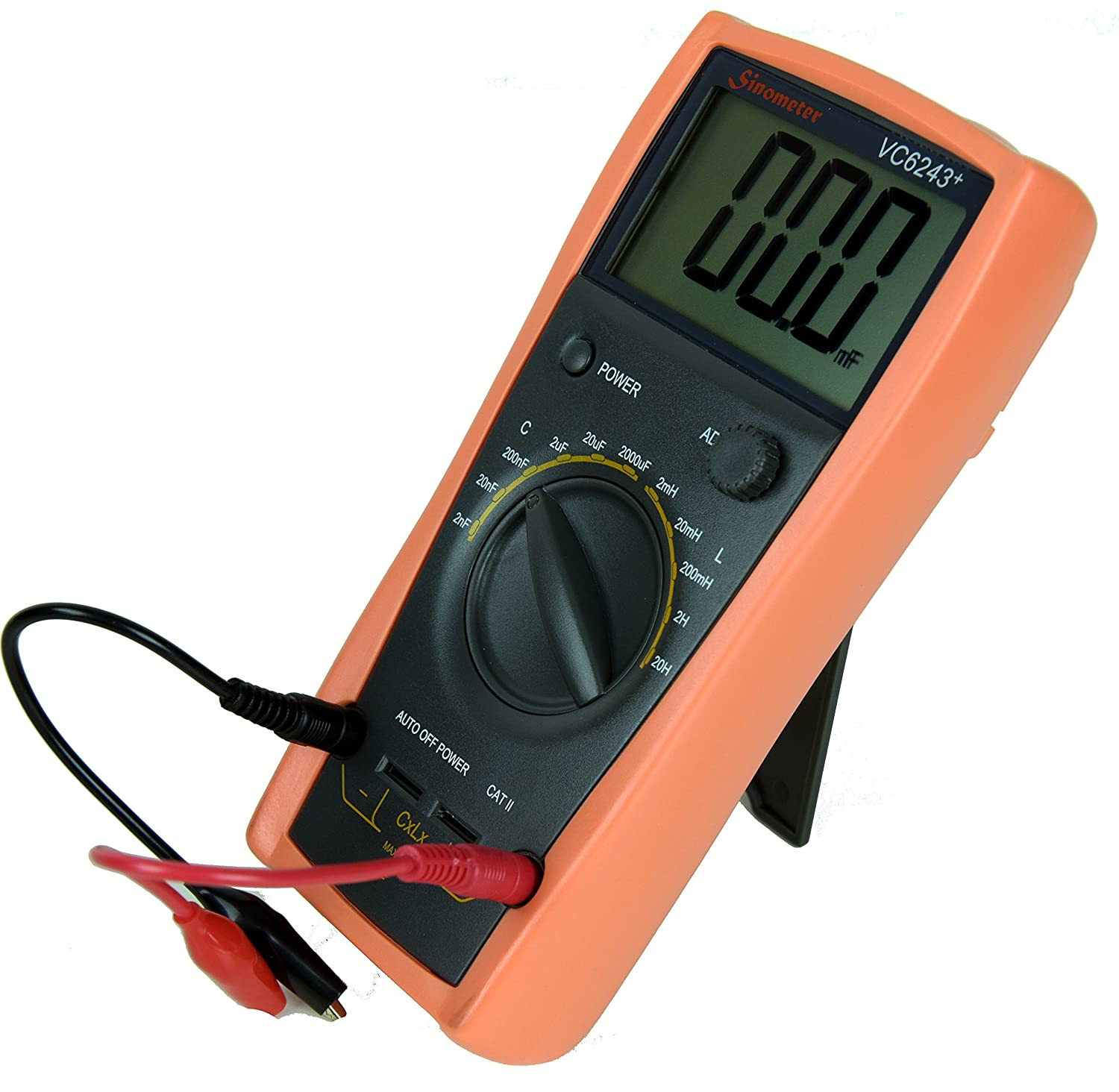 Sinometer Vc6243 An L C Meter Dedicated To Measure Inductance And Home Images Lc Circuit Coil Capacitor Capacitance