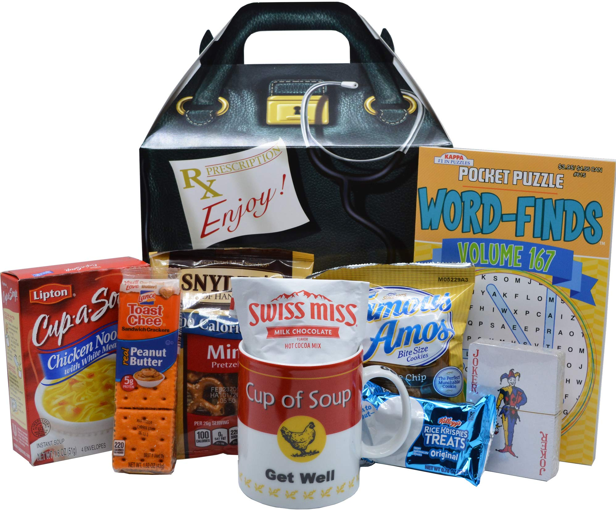 Get Well Soon Care Package Gift (Available in Two Sizes) ... (Standard)