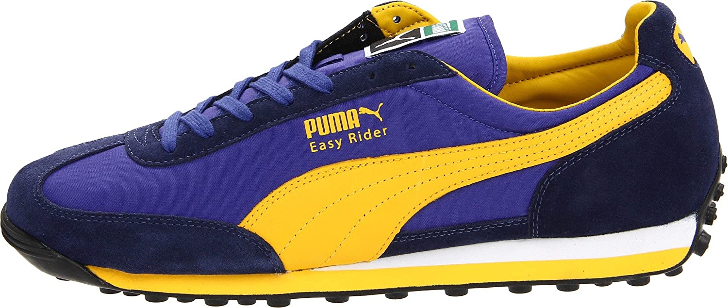 best sneakers 27ada fd39a Amazon.com   PUMA Men s Easy Rider 78-m, Medieval Blue Team Yellow, 10 D US    Fashion Sneakers
