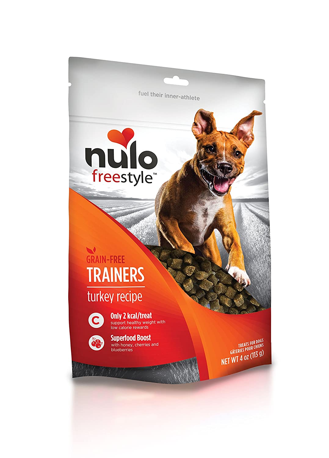 Nulo Puppy & Adult Freestyle Trainers Dog Treats: Healthy Gluten Free Low Calorie Grain Free Dog Training Rewards - 4 oz Bag Nulo Pet Food Inc. 56TS04