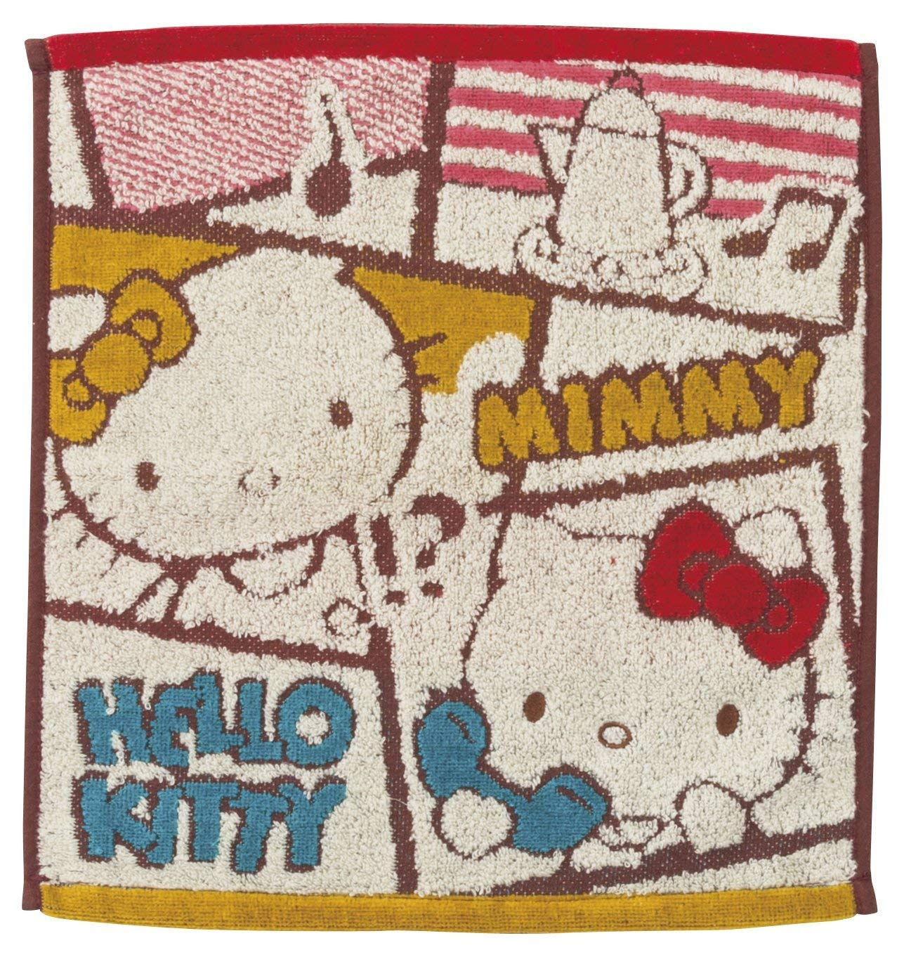 Marushin [Choose Size Sanrio Hello Kitty Towel Frame Family (Face Towel) 3005028000 (Face Towel)