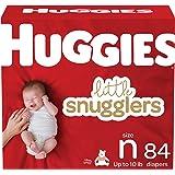 Newborn Diapers - Huggies Little Snugglers Disposable Baby Diapers, 84ct, Giga Pack