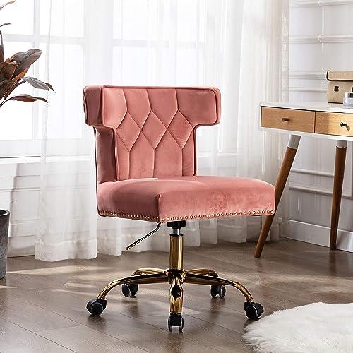 Recaceik Velvet Home Office Chair