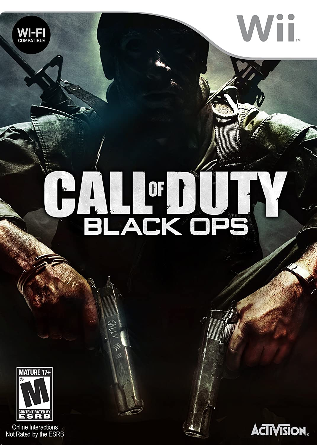Amazon Com Call Of Duty Black Ops Nintendo Wii Video Games