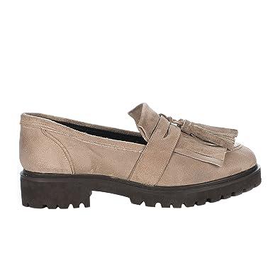 Miglio Chaussures Mocassins femme - - Beige dore - 36 Miglio soldes CQu00ij