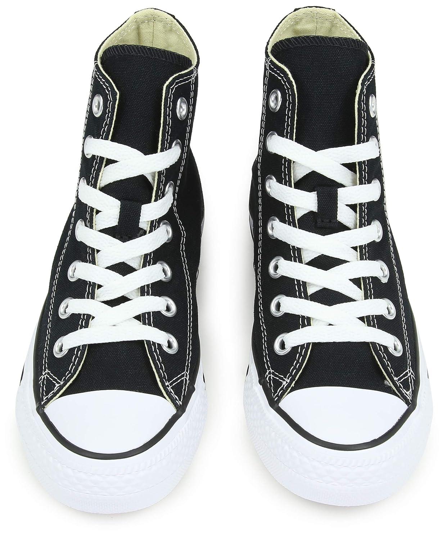 Converse Chuck Taylor All Star, Unisex-Erwachsene Hohe Schwarz Sneakers Schwarz Hohe (M9160 Schwarz) 7205d7